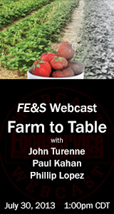 FE&S Farm to Table Webcast