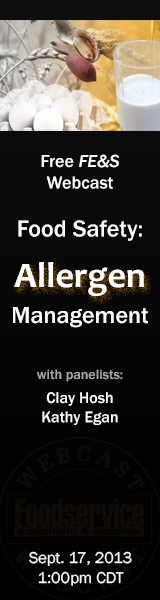 FE&S Food Safety Webcast