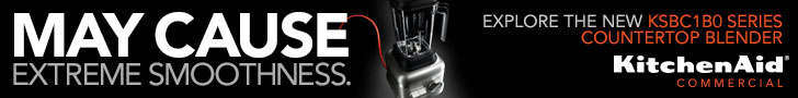 KitchenAid Commercial: May Cause Extreme Smoothness. Explore the new KSBC180 Series Countertop Blender.