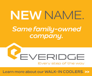 Everidge every step of the way. New Name, same family-owned company. Learn more about our walk-in coolers.