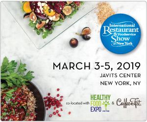 International Restaurant and Foodservice Show New York. March 3-5, 2019, Javite Center, New York, New York. Register Now.