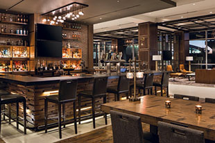 Burdock & Bitters at the Omaha Marriott provides a contemporary dining environment with a casual vibe.