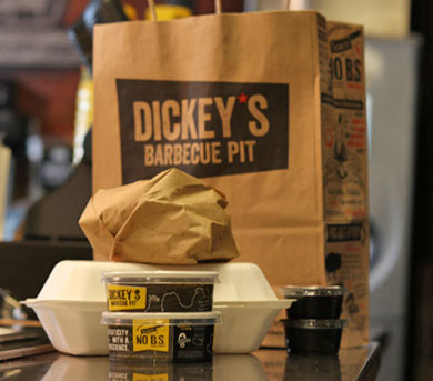 Delivery orders go through the same process, assembled on one line, at Dickey's.