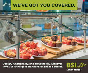 BSI- We've got you covered. Design, functionality and adjustability. Discover why BSI is the gold standard for sneeze guards. Learn more.