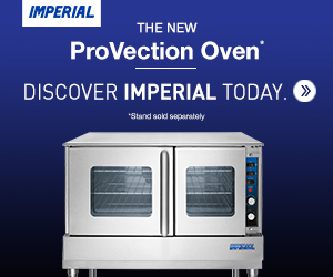 Imperial's new ProVection Oven. Discover Imperial today. Find out more.