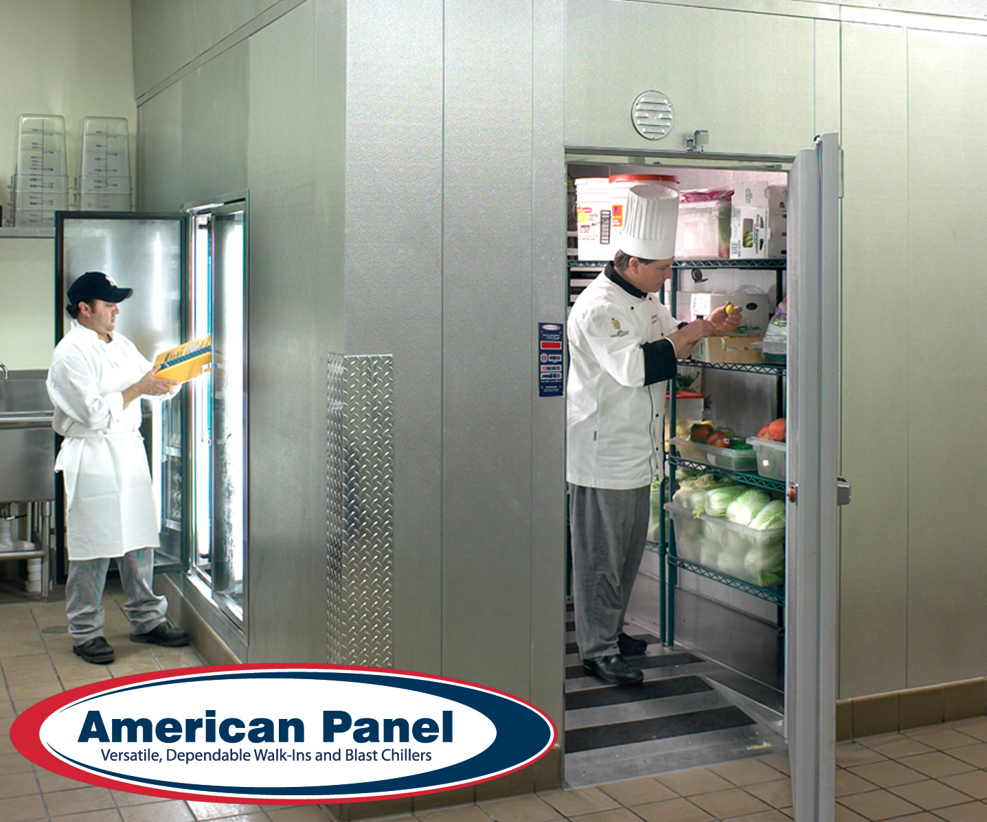 American Panel. Dependable Walk-Ins and Blast Chillers. Learn more.