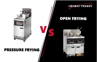 Henny Penny Open vs. Pressure Frying