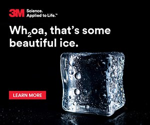 3M, Science Applied to Life. Wh2oa, that's some beautiful ice. Learn more.