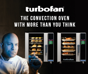 turbofan. The convection oven with more than you think.