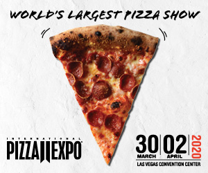 International Pizza Expo. March 30-April 2, 2020. Las Vegas Convention Center. World's largest pizza show.