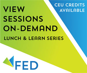 Foodservice Equipment and Design Global Thought Leadership. New Lunch and Learn Series. View sessions on-demand. CEU credits available. Register today!