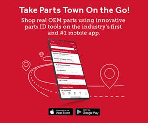 Parts Town mobile app