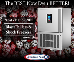 American Panel. The best is now even better. Newly redesigned Blast Chillers and Shock Freezers Learn more.