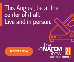 The NAFEM Show. August 25-28, Orlando, Florida. This August, be at the center of it all. Live and in person. Register now.