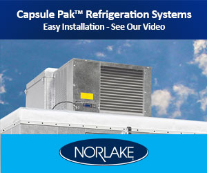 Norlake Capsule-Pak Refrigeration Systems. Easy installation. See our video.