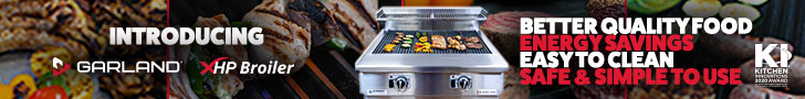 Introducing Garland HP Broiler. Better quality food, energy savings, easy to clean, safe and simple to use. Learn more.