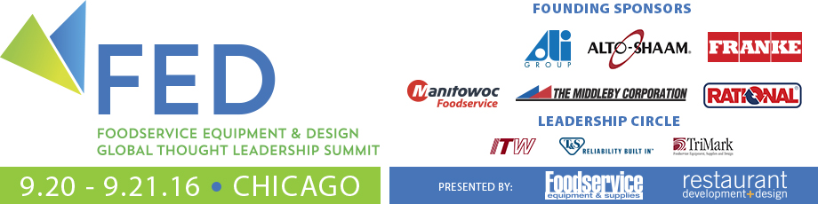 Rd D Foodservice Equipment Design Global Thought Leadership Summit