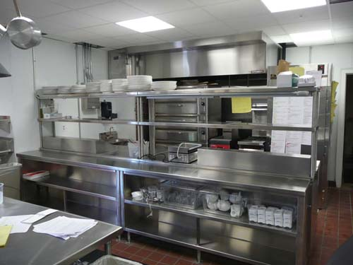 Facility design project of the month sept 2010 divine for Hotel kitchen design