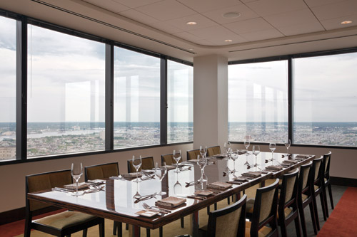 Private dining is a growing facet of R2L&#39;s business. The views sell themselves.
