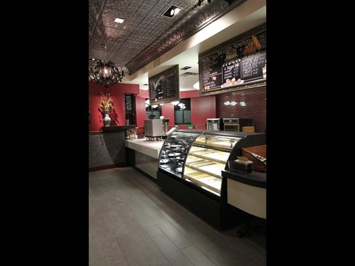 Fresh baked goods are available in the retail bakery.