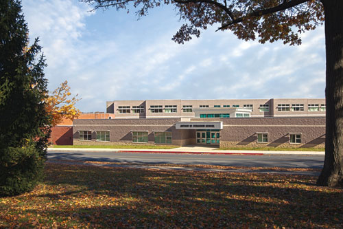 Opened in August 2010, Arthur W. Ferguson Elementary School is on its way to becoming LEED Platinum certified.