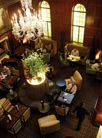 Heathman Hotel Lounge