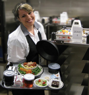 Room Service Continues To Deliver For Hospitals