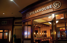 BT-Steakhouse entrance