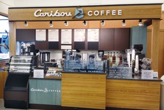 Caribou-Coffee-stand