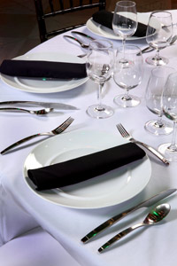 City Flats Hotel Placesetting