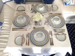 Jupiter Island Club, Florida, place setting