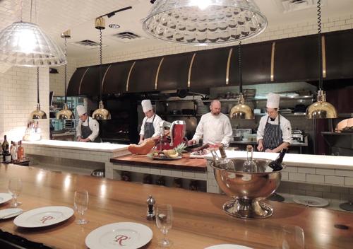 Exhibition Kitchen: Restaurant R\'evolution, New Orleans ...