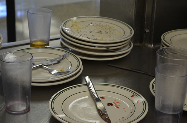 Nardin Clean plates at Nardin