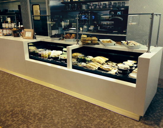 Refrigerated Display Cases Convey Fresh Image And Spark