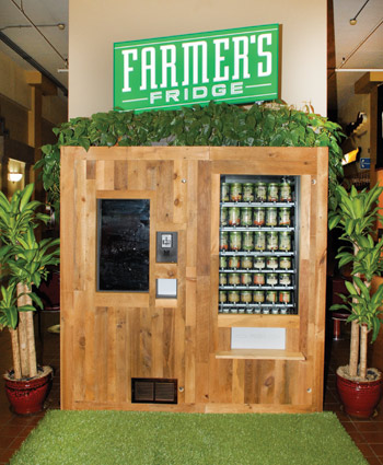 Farmers Fridge Kiosk Vending