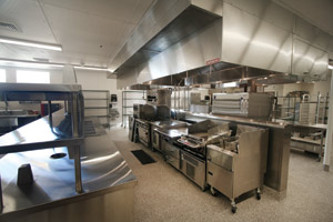 Blue Heron Caf Storage Dining Rooms Central Kitchen