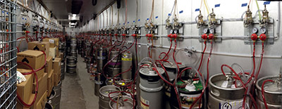 Hopcat follows its own beat foodservice equipment supplies for Build your own walk in beer cooler