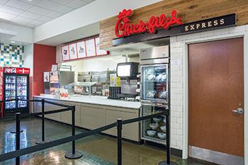 Usf Marshall Center Food Court