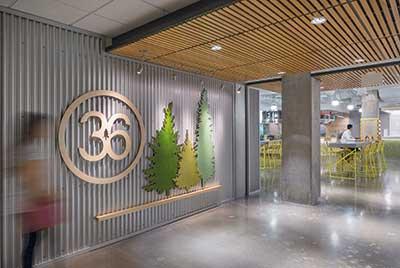 Cafe 36 Entrance