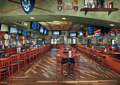Tilted-Kilt Pub Interior 5-1