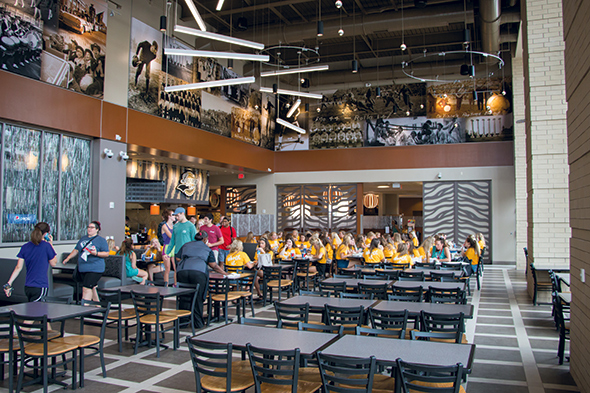 University Of Missouris Retail Approach To Dining