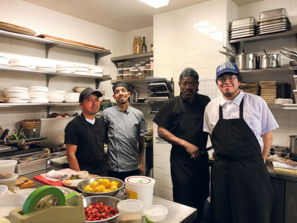 Esthers staff kitchen