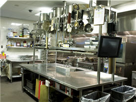 back-of-house kitchen