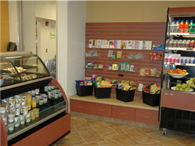 Refrigerated display units and shelving