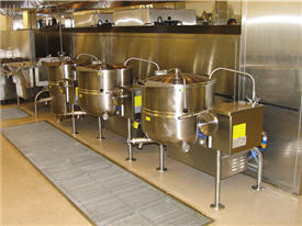 hot food production equipment