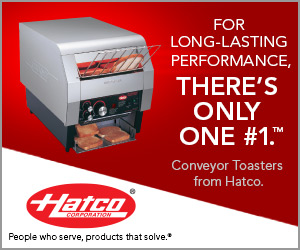 Hatco Conveyor Toasters. For long lasting performance, there's only one number one.