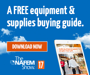 The NAFEM Show 2017. Download a free equipment and supplies buying guide.