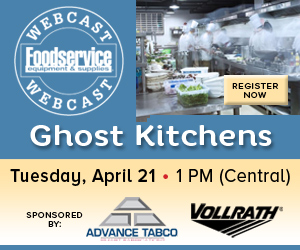 Ghost Kitchens Webcast. Tuesday, April 21, 1PM Central. Register now for this free webcast.