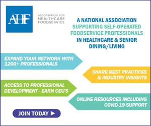 Association of Healthcare Foodservice. A National association supporting self-operated foodservice professionals in healthcare and senior dining/living. Join today.
