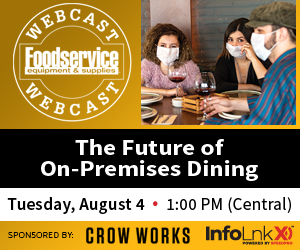 Free Webcast: The Future Of On-Premises Dining. Tuesday, August 4, 1PM Central. Register now!